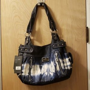 NWT Angelkiss Tie-Dyed Tote